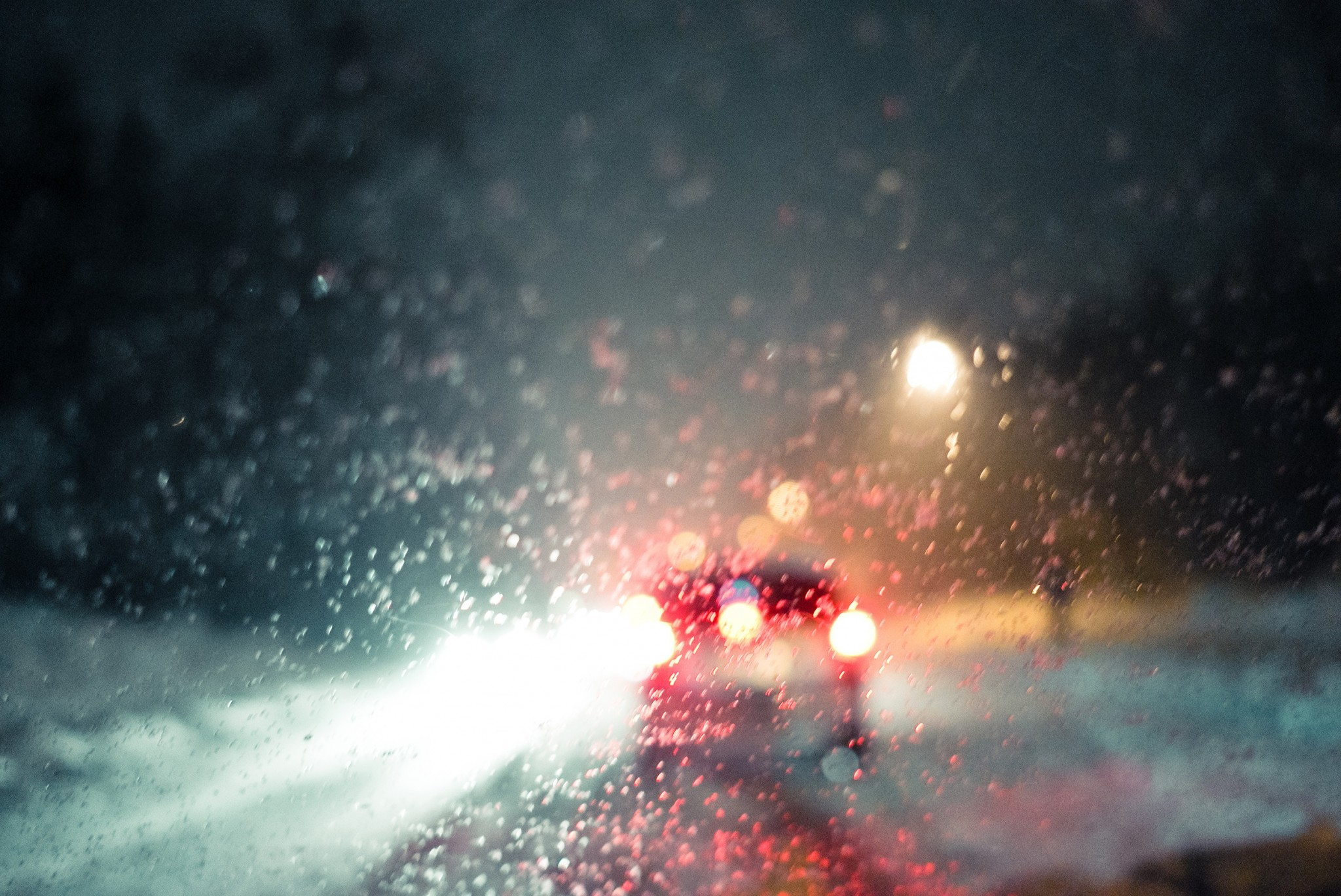 driving to mc donald's | © Olivier Villard