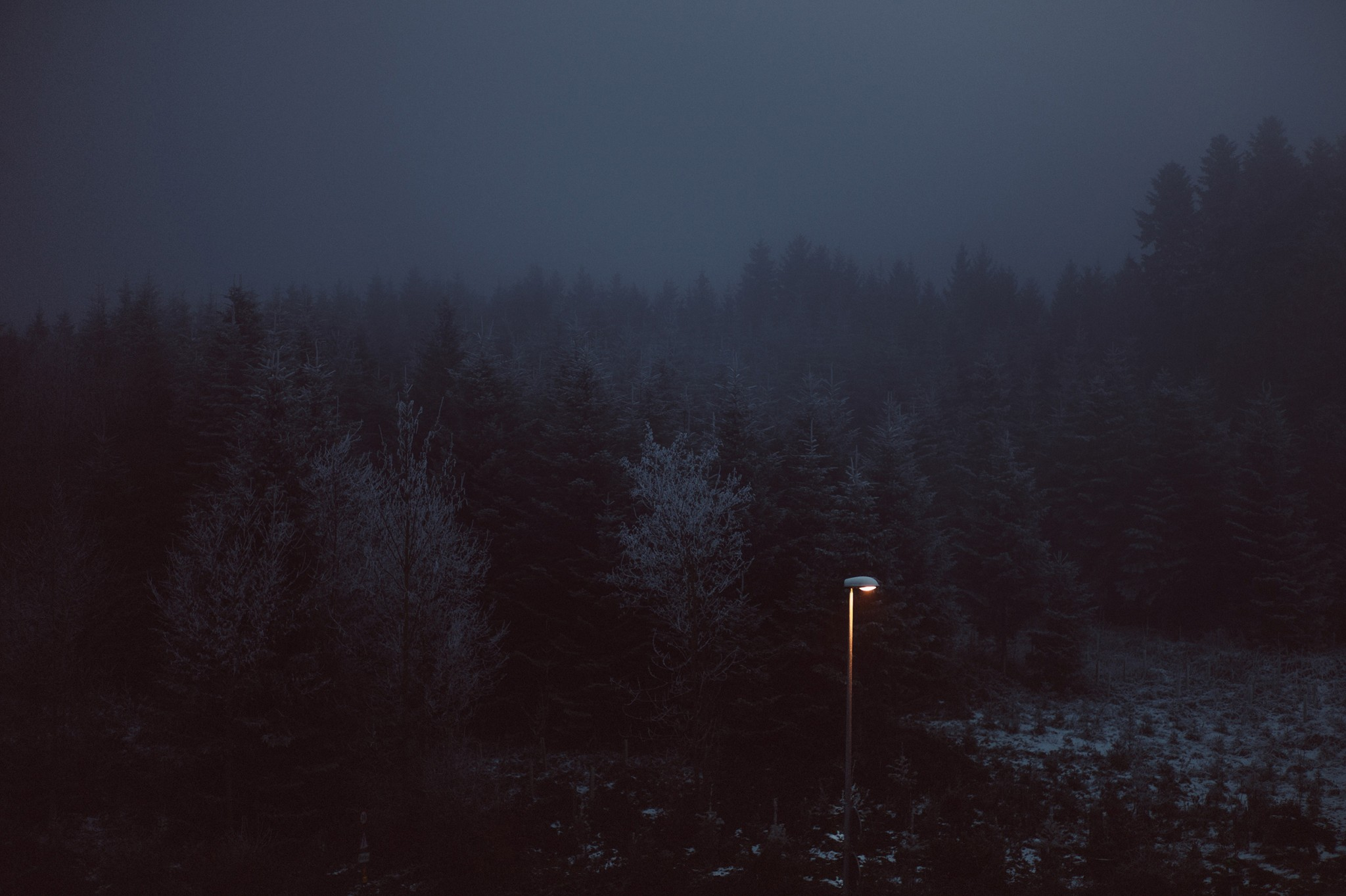 lonely lamp | © Olivier Villard